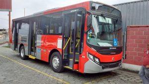 Buses de la empresa SPTrans