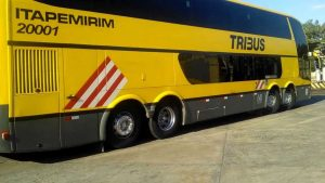 Buses de la empresa Itapemirim