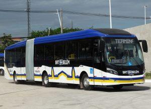 Autobuses de Brasil.