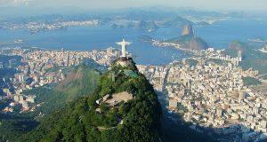 La estatua del Cristo Redentor en Río de Janeiro.