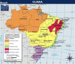 Clasificación climática de Brasil