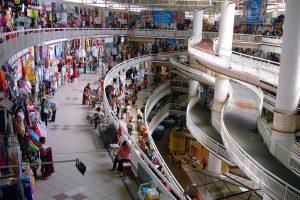 El populoso  Mercado Central de Fortaleza en Brasil.