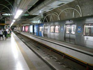 Estación de Metro Cantagalo
