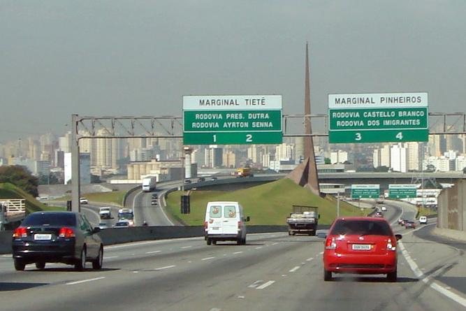 Autopista Rodovia dos Bandeirantes - Sao Paulo