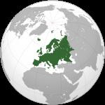 Ubicación de Europa