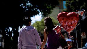 Día de los enamorados en Brasil.