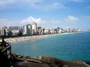 Playa Leblon de Río  de Janeiro