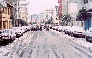 En algunas regiones altas de Brasil, nieva.