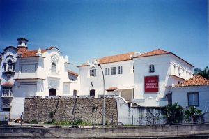 El Museo de Historia ubicado en el centro de Río de Janeiro