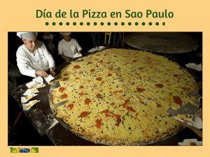 Día de la Pizza en Sao Paulo