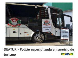 DEATUR - Policía especializada en servicio de turismo